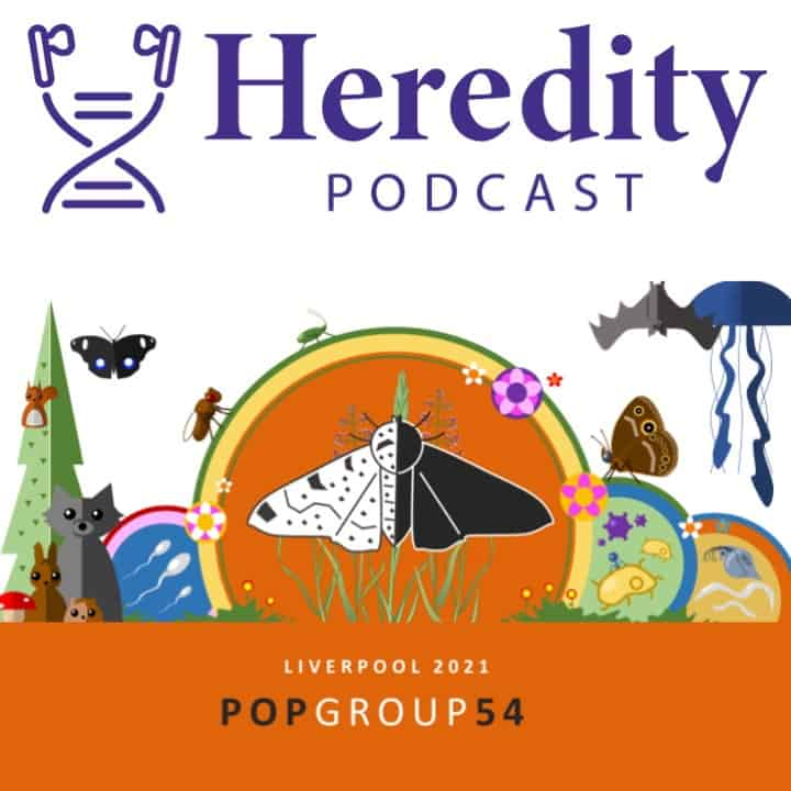 Heredity journal logo with 54th Population Genetics Group
