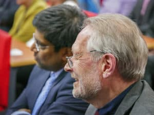 Pete Soulsby and Professor Nishan Canagarajah