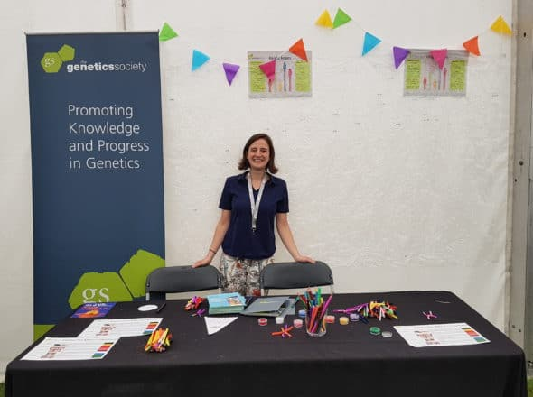 Image for A day volunteering with the Genetics Society at Lambeth Country Show