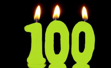 100 number candles
