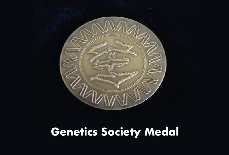 Genetics Society Medal