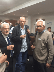 Photograph from Fisher Centenary talks event
